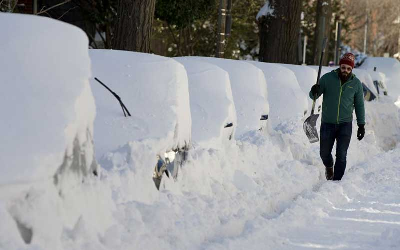 วิปริตพายุหิมะอเมริกา