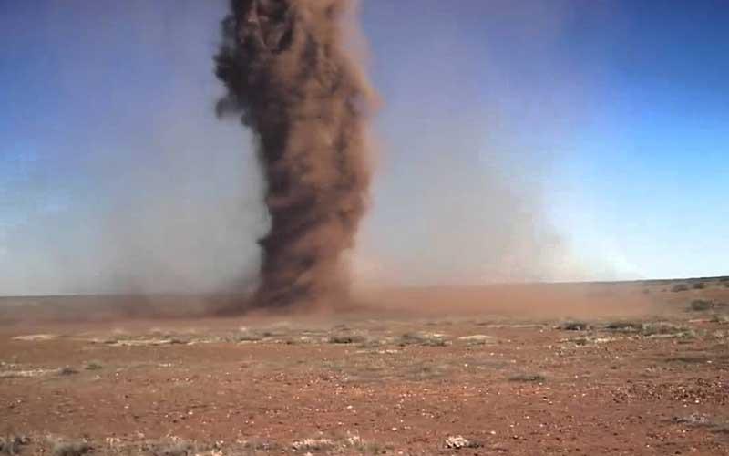 การเกิดขึ้นของพายุทะเลทราย